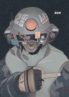 Resultado de imagen de hachiroku nekken art