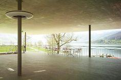 Joos & Mathys Architekten - Zürich - Strandbad Lido Wind Turbine, Public, Construction, Image, Public Bathing, Lighting, Architecture, Building