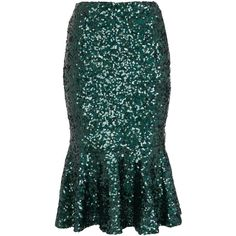 French Connection Fast Sirius Sequin Mermaid Skirt, Green ($56) ❤ liked on Polyvore featuring skirts, bottoms, green, ariel, mermaid, fitted maxi skirt, green mermaid maxi skirt, flare skirt, christmas skirt and long flared skirts
