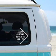 """Voiture // Van stickers meubles fenêtre Bébé À Bord Signe Vinyle 8 /""""x 6/"""" autocollants"""