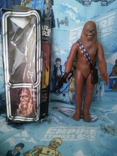 "Star Wars Chewbacca 15"" with Box Vintage by AlwaysPlanBVintage on Etsy"
