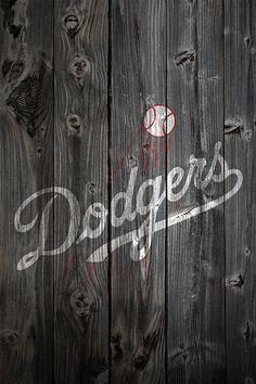 Los Angeles Dodgers Wood Iphone  Background Kristopher Legg Flickr