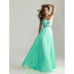 sexy-beaded-strapless-mint-green-chiffon-a-line-long-prom-dress-for-summer.jpg (600×600)