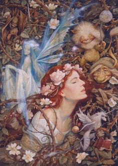 """The myths and legends about Faerie are many and diverse, and often contradictory. Only one thing is certain - that nothing is certain. All things are possible in the land of Faerie.""  Brian Froud and Alan Lee."