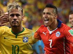 Neymar, Brasil - Alexis Sánchez, Chile = Cracks del FC Barcelona. | Ole | Diario Deportivo