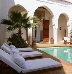 Morocco / WWW.THEAFRICANTOUCH.COM  / Ethnic Global African Home Decor and Style /