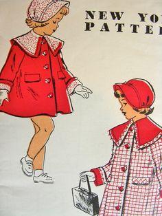 Vintage 1950's New York Pattern 1345  PRECIOUS Little by anne8865, $22.60