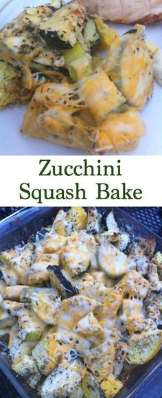Super Easy Zucchini Squash Bake Are you tired of the same old squash casserole recipes? If you're looking for easy summer side dishes then look no further than this Zucchini Squash Bake. Not only is it easy and healthy but it's yummy too. Grab your yellow Zucchini Squash Bake, Baked Squash And Zucchini Recipes, Summer Squash Recipes, Summer Recipes, Easy Squash Recipes, Recipe For Yellow Squash And Zucchini, Summer Squash Bake, Roasted Zuchinni And Squash, Recipes