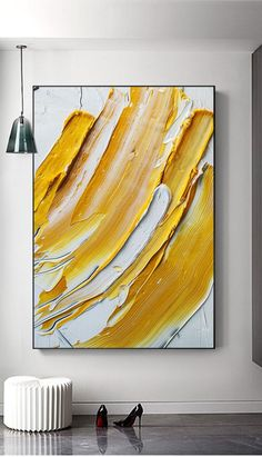Handmade Oil Painting On Canvas Abstract Painting Pastel Crayon Art Am – parsleyral Oil Paint Brushes, Oil Painting On Canvas, Modern Oil Painting, Abstract Paintings, Textured Painting, Modern Paintings, Diy Painting, Art Deco Paintings, Abstract Canvas Art