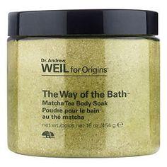 Dr. Andrew Weil for Origins The Way of The Bath Matcha Tea Body Soak, 16 oz:Amazon:Beauty