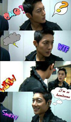 Kim Hyun Joong - hahaha...