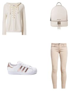 """""""Untitled #114"""" by dominique-mariee on Polyvore featuring GUESS, NSF, adidas and MICHAEL Michael Kors"""