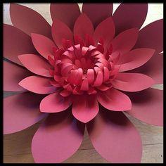 Paper Flower Backdrop Giant Pa