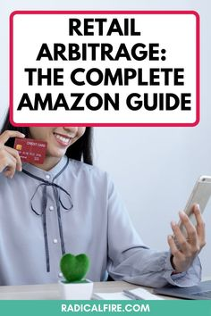 Are you interested in retail arbitrage? With Amazon FBA you can make extra money from home. You can buy items and flip them for profit. Here's exactly what products will give you profit, what retail arbitrage is, and how to make extra money with Amazon FBA #retailarbitrage #sidehustle #makemoney #workfromhome #extramoney #workathome Make Money On Amazon, Make Money From Home, Make Money Online, How To Make Money, Amazon Credit Card, Retail Arbitrage, Dividend Investing, Creating Wealth, How To Get Rich