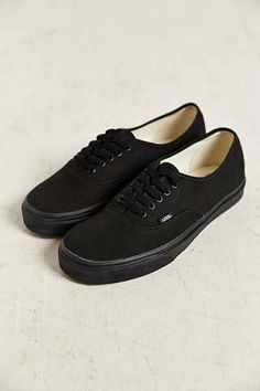 free shipping 56c04 b9fbe Vans Authentic Sneaker - Urban Outfitters Vans Authentic, Vans Shop, All  Black, Urban
