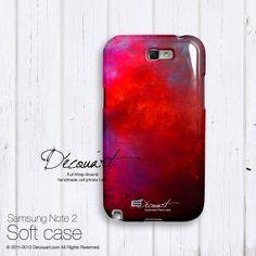 Samsung galaxy S4 case fuchsia orchid raspberry S486B $22