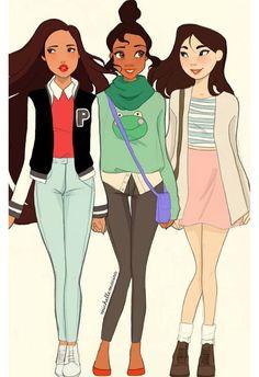 Bffs princess style