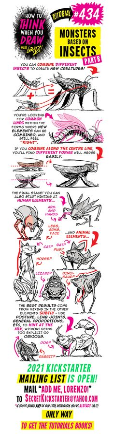 Drawing Reference Poses, Design Reference, Drawing Techniques, Drawing Tips, Creature Drawings, Animal Drawings, Comic Tutorial, Drawing School, Monster Drawing