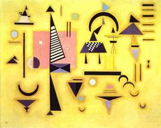 Wassily Kandinsky Decisive Rose (Entscheidendes Rosa), March oil on canvas, 81 x 100 cm, Solomon R. In 1922 Kandinsky accepted a teaching position at the Bauhaus, the state-sponsored Weimar school of art and. Art Kandinsky, Wassily Kandinsky Paintings, Abstract Words, Abstract Art, Abstract Landscape, Georgia O'keeffe, Art Beauté, Josef Albers, Paul Klee