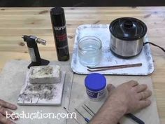 ▶ Setting up for Soldering at Home - Beaducation.com - YouTube - cosa serve per fare le saldature a casa