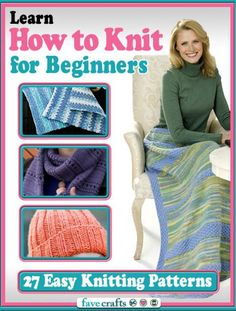 2a835c0e3eebcb Learn How to Knit for Beginners  27 Easy Knitting Patterns - Free eBook  filled with