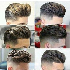 Important Style Short Back And Side Fade Haircut - Hair trends come and go each season, but there is a set of cuts that have proven to stand the test and Barber Haircuts, Haircuts For Men, Undercut Hairstyles, Hairstyles Haircuts, Undercut Pompadour, Pompadour Hairstyle, Medium Hair Styles, Short Hair Styles, Mens Medium Length Hairstyles