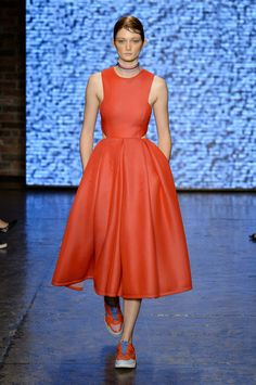 DKNY Spring 2015 | photo by Alessandro Lucioni | posted by The Cut