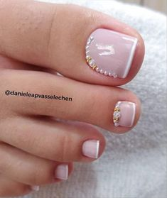 Different Types Of Toe Nails For Your Summer Look~ - Latest Fashion Trends for Girls Pretty Toe Nails, Cute Toe Nails, Pretty Toes, Toe Nail Color, Toe Nail Art, Nail Colors, Toe Nail Designs, Acrylic Nail Designs, Nails Design