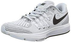 9083aa811c447 Nike Womens Air Zoom Vomero 11 Pure Platinum Black Wht Running Shoe 8 Women  US