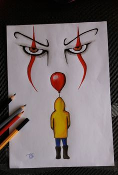 "Hobo Heart Creepypasta Poster Print""},""grid_title"":""Hobo Heart Creepypasta Poster Print ""Es"" – der Clown 🎪 ""Es"" – der Clown 🎪 – Sponsored Sponsored \""It\"" – the clown 🎪 \""It\"" – the clown 🎪 – the Scary Drawings, Cool Art Drawings, Pencil Art Drawings, Drawing Sketches, Drawing Ideas, Drawing Drawing, Drawing Tips, Ghost Drawing, Cool Simple Drawings"