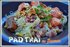 Pad Thai au saumon
