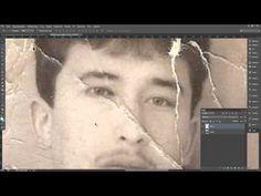Как отреставрировать старое фото - YouTube