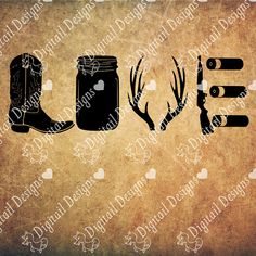 Country Love Svg Png Dxf Eps Fcm Cut file for Silhouette