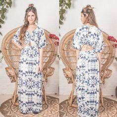 vestido longo sicilia cheio de detalhes para deixar você [ mais ] linda! ✨