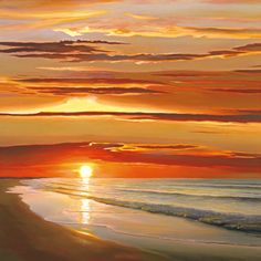 Sunset on the Water, $34.00