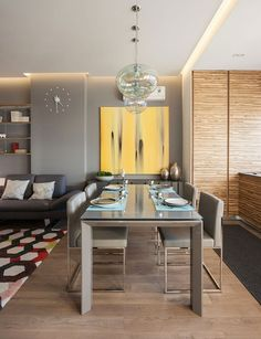Casinha colorida: Home tour: um loft elegante com design elaborado