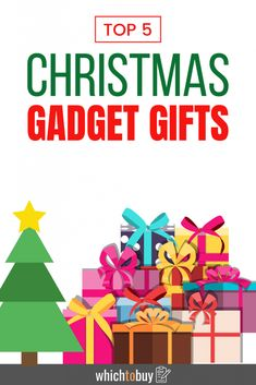 Here are the recommended Which to Buy top 5 Christmas gifts for gadget geek. #christmas #christmasgifts