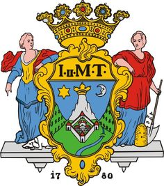 City of Pecs, Hungary Coat of Arms