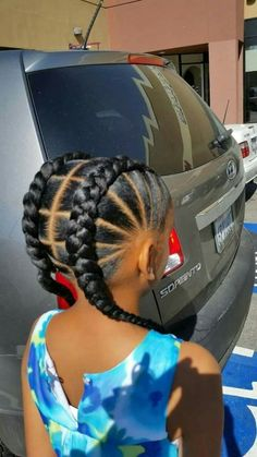 braids hairstyles and cornrows pictures kids braided hairstyles 22 Mind Blowing Braid Hairstyles for your next look Little Girl Braids, Black Girl Braids, Braids For Kids, Girls Braids, Kid Braids, Braids Easy, Children Braids, Toddler Braids, Simple Braids