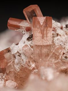 "mineralia: "" Topaz from Mexico by Tony Peterson """