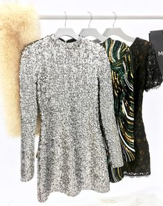 Sparkling Sequins for New Year's Eve #MARCIANO