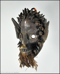Guere Ge Mask #2592 - For African Art Gallery