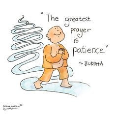 Buddha Doodle - 'Patience'by Mollycules♥ please share ♥