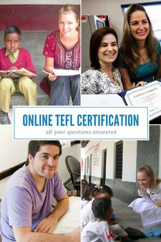 Is an online TEFL certification a good choice for you and your career? We answer some of your top questions about online TEFL certifications in this post, produced in partnership with BridgeTEFL. Teaching Humor, Teaching Career, Esl Lessons, Piano Lessons, Teaching Overseas, Tefl Certification, Online Bookkeeping, Esl Lesson Plans, Professional Development