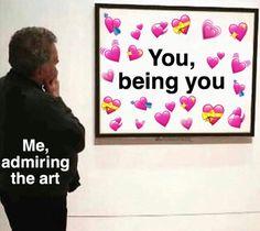 Explore relatable memes about love, relationship, funny couple moments and more relationship advice! All Meme, Stupid Memes, Funny Memes, Bts Memes, Jokes, Response Memes, No Response, Heart Meme, Cute Love Memes