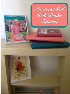 These American Girl Books are AMAZING! This step by step instructions makes the process easy. You can make beautiful books fast and inexpensively!