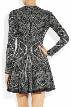 Alexander McQueen knit dress. I think this might be the most beautiful piece of knitwear I've ever seen. My jaw is on the floor!