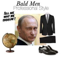 Bald Men Formal And Evening Attire Vladimir Putin Style! Bald Men Style, Pin Man, Bald Man, Evening Attire, Men Formal, Business Events, Vladimir Putin, Professional Look, Summer Wear