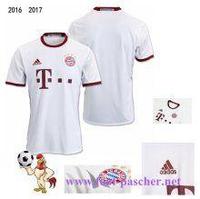 Bundesliga: Maillot Football Bayern Munich Blanc Third 2016 2017 Replica…