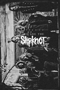 Slipknot You are in the right place about Iowa sticker Here we offer you the most beautiful pictures about the pella Iowa you are looking for. When you examine the Slipknot part of the picture you can Nu Metal, Rock Y Metal, Heavy Metal Art, Heavy Metal Bands, Slipknot Quotes, Slipknot Lyrics, Thrash Metal, Metallica, Rock Poster